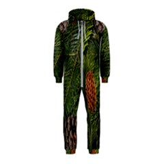 Branch Christmas Cone Evergreen Hooded Jumpsuit (kids)