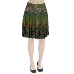 Branch Christmas Cone Evergreen Pleated Skirt