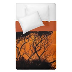 Trees Branches Sunset Sky Clouds Duvet Cover Double Side (single Size)