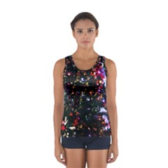 Abstract Background Celebration Sport Tank Top