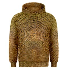 Background Gold Pattern Structure Men s Pullover Hoodie