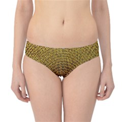 Background Gold Pattern Structure Hipster Bikini Bottoms