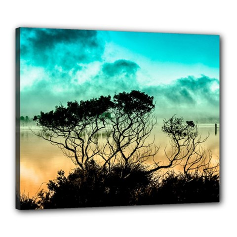 Trees Branches Branch Nature Canvas 24  X 20