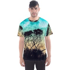Trees Branches Branch Nature Men s Sports Mesh Tee