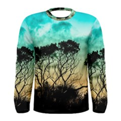 Trees Branches Branch Nature Men s Long Sleeve Tee