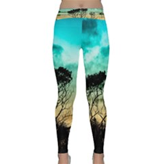 Trees Branches Branch Nature Classic Yoga Leggings