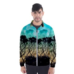 Trees Branches Branch Nature Wind Breaker (men)
