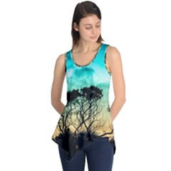 Trees Branches Branch Nature Sleeveless Tunic