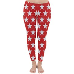 Star Christmas Advent Structure Classic Winter Leggings