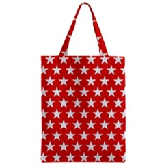 Star Christmas Advent Structure Zipper Classic Tote Bag