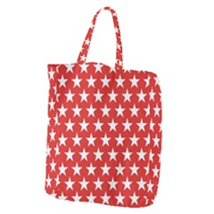 Star Christmas Advent Structure Giant Grocery Zipper Tote