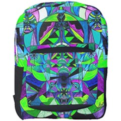 Arcturian Astral Travel Grid   Full Print Backpack