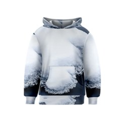 Ice, Snow And Moving Water Kids  Pullover Hoodie