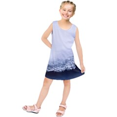 Ice, Snow And Moving Water Kids  Tunic Dress