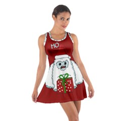Yeti Xmas Cotton Racerback Dress