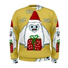 Yeti Xmas Men s Sweatshirt