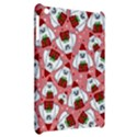 Yeti Xmas pattern Apple iPad Mini Hardshell Case View2