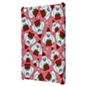 Yeti Xmas pattern Apple iPad Mini Hardshell Case View3