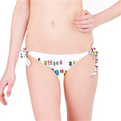Santa s Note Bikini Bottom
