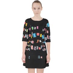 Santa s Note Pocket Dress