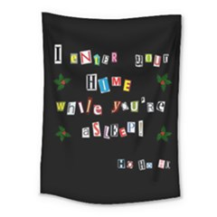 Santa s Note Medium Tapestry