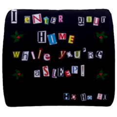 Santa s Note Back Support Cushion