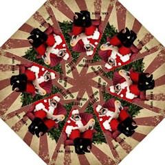 Karl Marx Santa  Golf Umbrellas