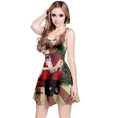 Karl Marx Santa  Reversible Sleeveless Dress