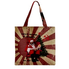Karl Marx Santa  Grocery Tote Bag