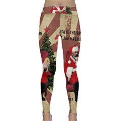 Karl Marx Santa  Classic Yoga Leggings