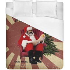 Karl Marx Santa  Duvet Cover (california King Size)