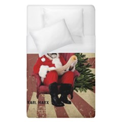 Karl Marx Santa  Duvet Cover (single Size)