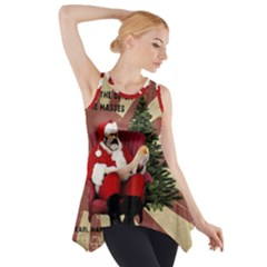 Karl Marx Santa  Side Drop Tank Tunic