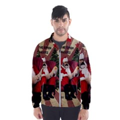Karl Marx Santa  Wind Breaker (men)