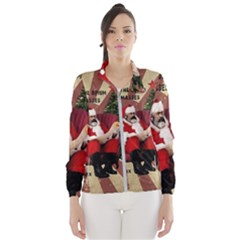 Karl Marx Santa  Wind Breaker (women)
