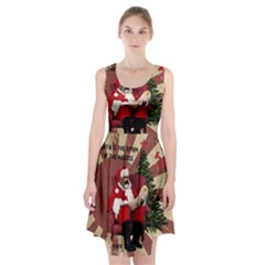Karl Marx Santa  Racerback Midi Dress