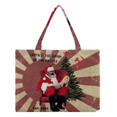 Karl Marx Santa  Medium Tote Bag