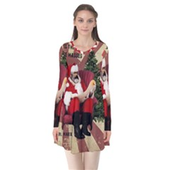 Karl Marx Santa  Flare Dress