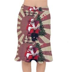 Karl Marx Santa  Mermaid Skirt