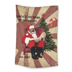 Karl Marx Santa  Small Tapestry