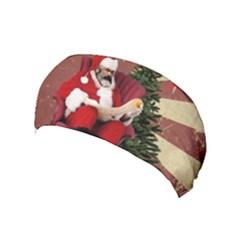Karl Marx Santa  Yoga Headband