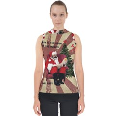Karl Marx Santa  Shell Top