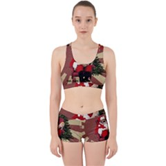 Karl Marx Santa  Work It Out Sports Bra Set