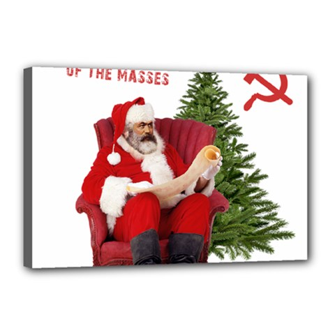 Karl Marx Santa  Canvas 18  X 12