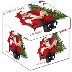 Karl Marx Santa  Storage Stool 12