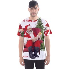 Karl Marx Santa  Men s Sports Mesh Tee