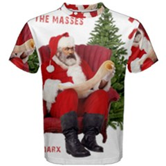 Karl Marx Santa  Men s Cotton Tee