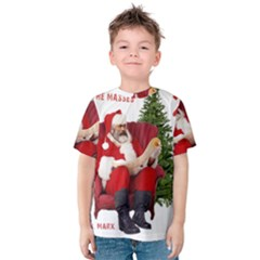 Karl Marx Santa  Kids  Cotton Tee