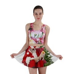 Karl Marx Santa  Mini Skirt