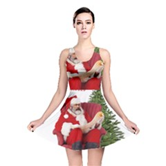 Karl Marx Santa  Reversible Skater Dress